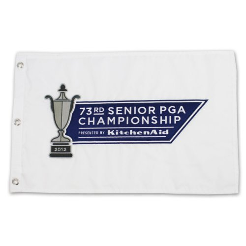 2012 Sr. PGA KitchenAid Embroidered Pin Flag - White