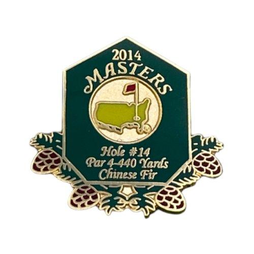 2014 Masters Golf Commemorative Pin
