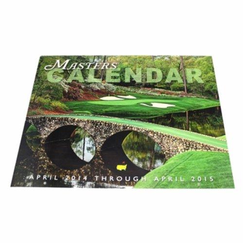 2014 Masters Merchandise- Masters Calendar