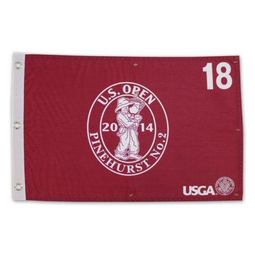 2014 US Open Championship Screen Printed Flag - Red