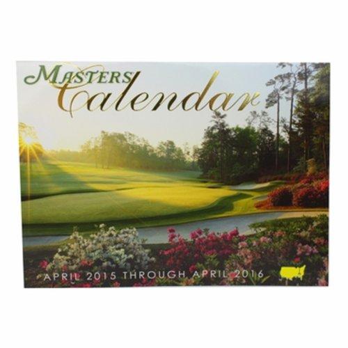 2015 Masters Merchandise- Masters Calendar