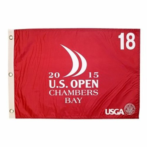 2015 US Open Screen Print Flag - Spieth Champion