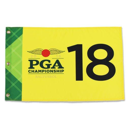2016 PGA Championship Screen Printed Flag - Yellow