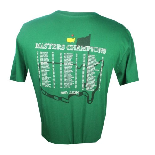 2017 Masters Champions T-Shirt - Green