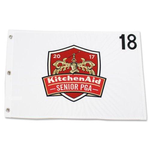 2017 Sr. PGA Championship Embroidered Pin Flag - White