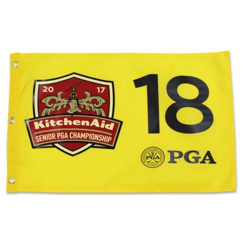 2017 Sr. PGA Championship Screen Printed Flag - Yellow