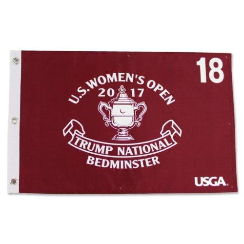 2017 US Open Women's Championship Screen Printed Flag - Bedminster