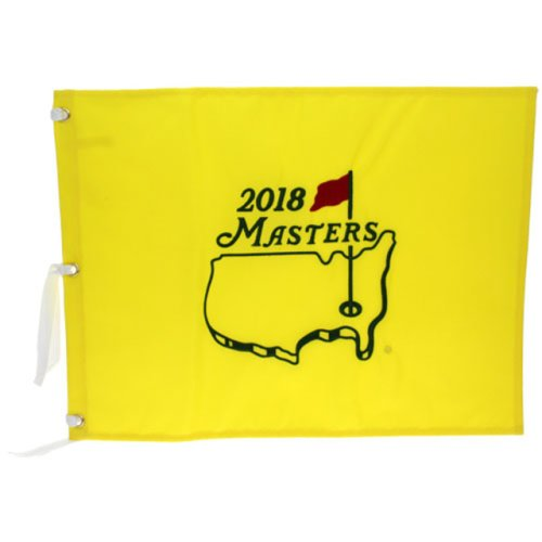 2018 Masters Embroidered Golf Pin Flag - Patrick Reed Champion