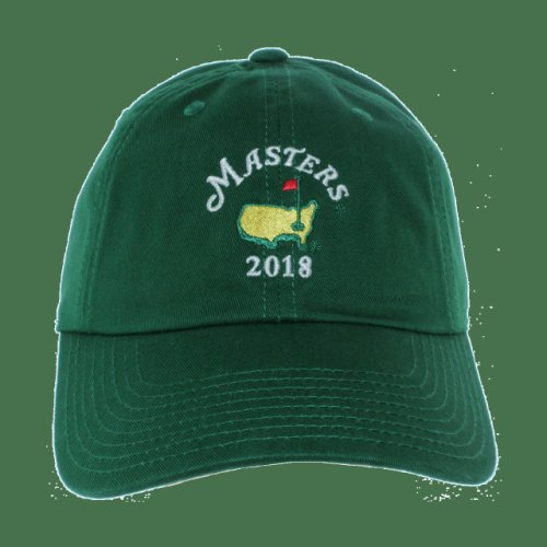 a3ba30bcff8 2018 Masters Green Caddy Hat