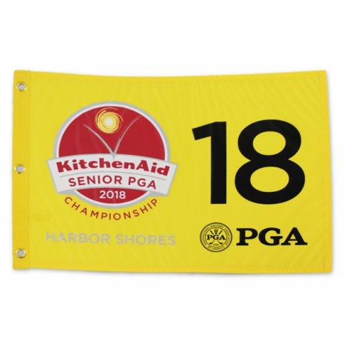 2018 Sr. PGA Championship Screen Printed Flag - Yellow