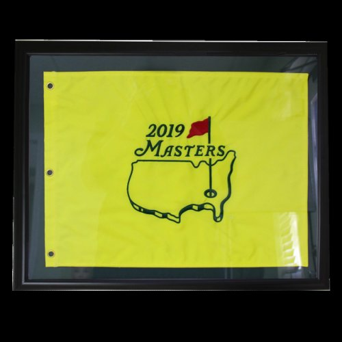 2019 Framed Masters Embroidered Pin Flag