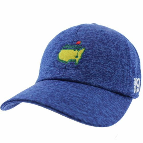 ae475e98 2019 Masters Royal Blue Performance Tech Side Dated Hat