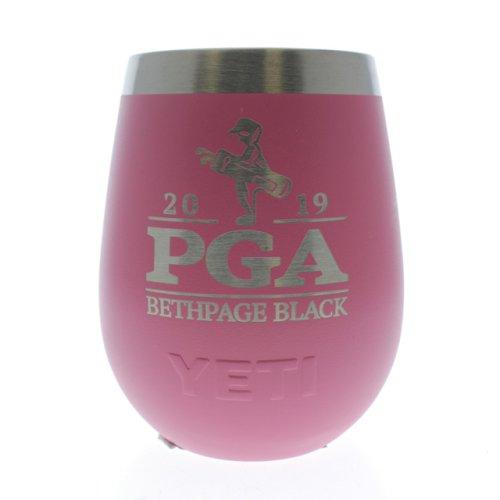 2019 PGA Stemless Stainless Steel YETI- Pink