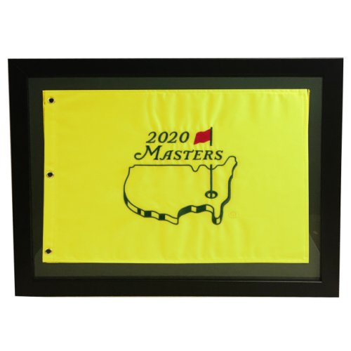 2020 Framed Masters Pin Flag