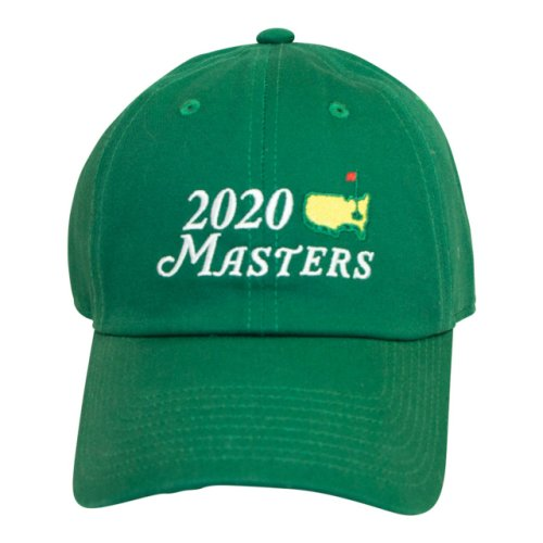 2020 Masters Big Logo Green Caddy Hat