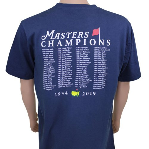 2020 Masters Champions T - Shirt - Navy (pre-order)