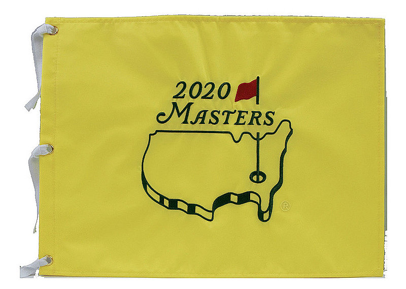 2020 Masters Embroidered Golf Pin Flag (pre-order)