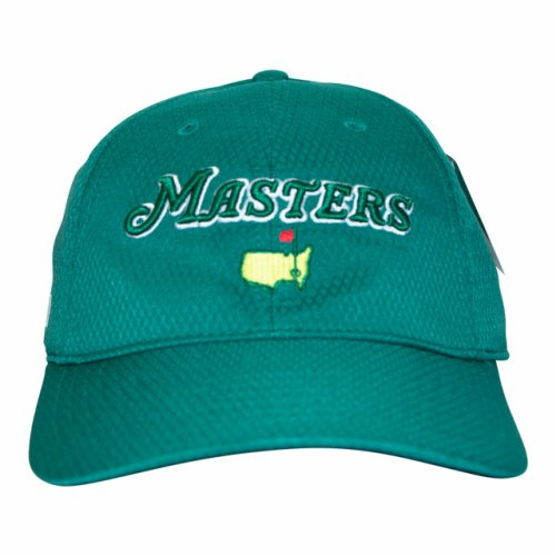 2020 Masters Green Performance Dated Logo Hat
