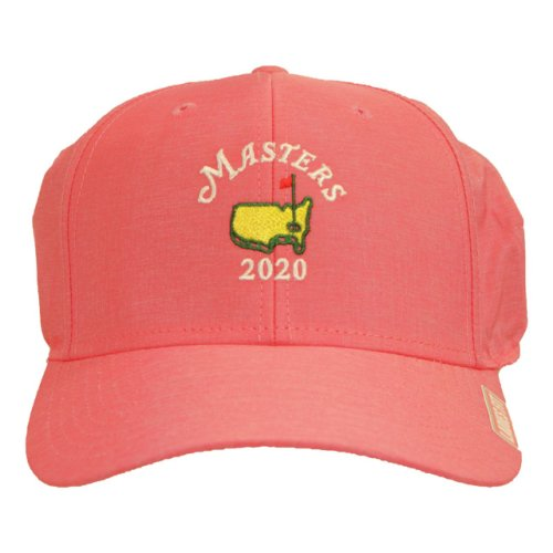2020 Masters Ladies Performance Hat -Pink with White Logo