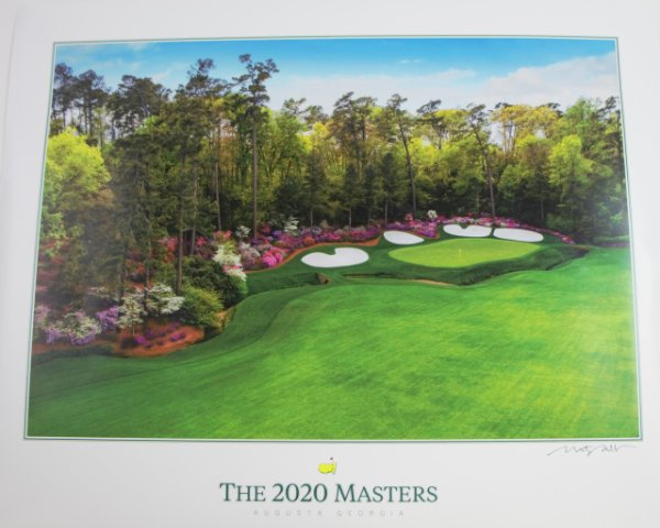 2020 Masters Poster (pre-order)