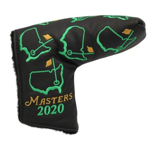 2020 Masters Premium Black Putter Cover - Scotty Cameron Design