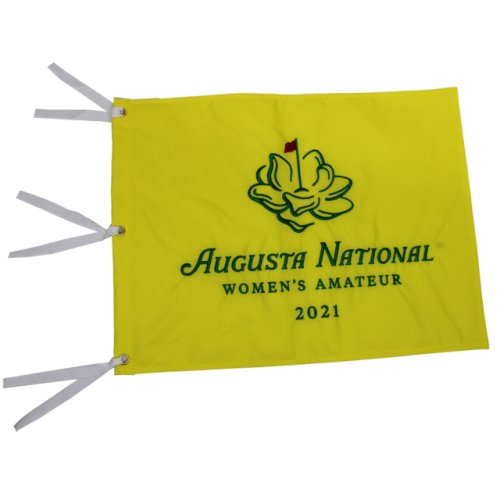 2021 Augusta National Women's Amateur Yellow Pin Flag