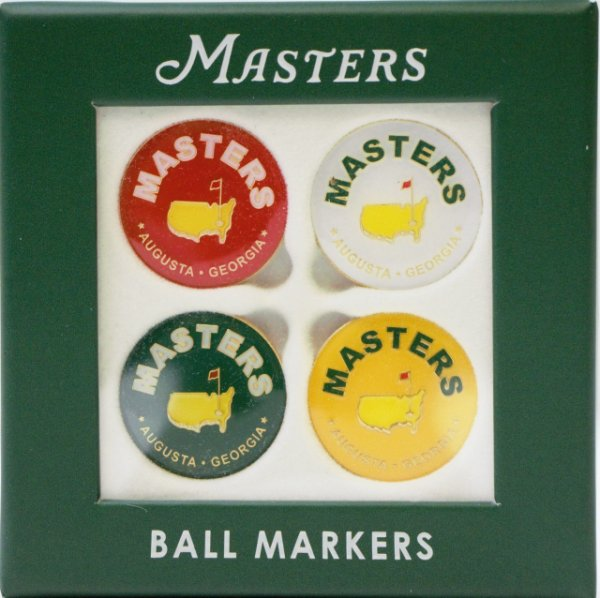 2021 Masters 4-Pack Ball Markers