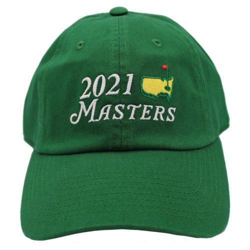 2021 Masters Big Logo Green Caddy Hat