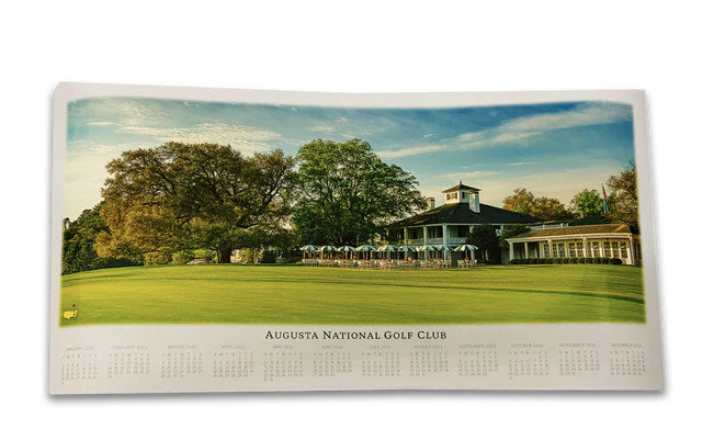 2021 Masters Clubhouse Panorama Calendar