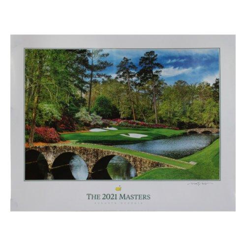 2021 Masters Commemorative Poster (pre-order)
