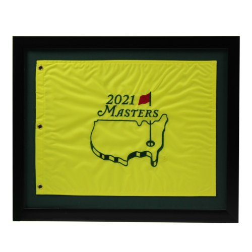 2021 Masters Framed Embroidered Pin Flag