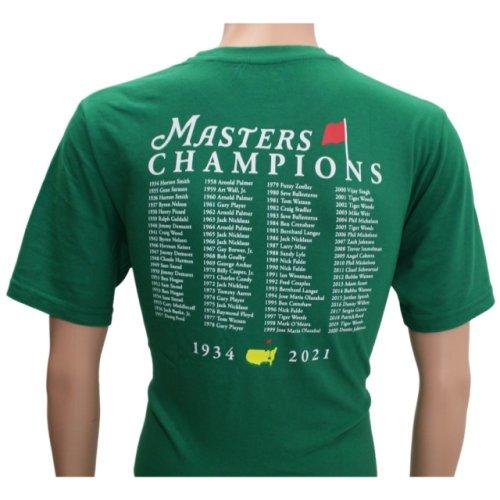2021 Masters Green Champions T-Shirt