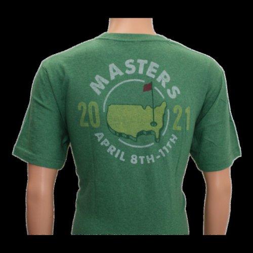 2021 Masters Green Logo T-Shirt