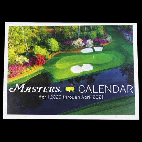 2021 Masters Wall Calendar (pre-order)