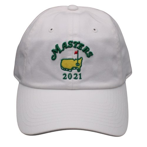 2021 Masters White Caddy Hat