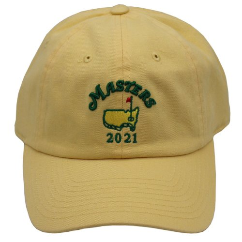 2021 Masters Yellow Caddy Hat