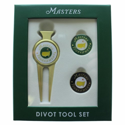 Classic Masters Divot Tool with Two Extra Ball Markers