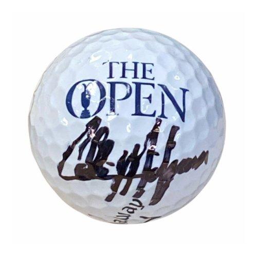 Collin Morikawa Autographed British Open Golf Ball - JSA Certified