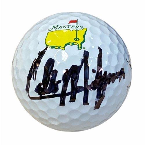 Collin Morikawa Autographed Masters Golf Ball - JSA Certified