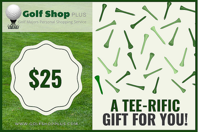 Golf Shop Plus $25 eGift Card
