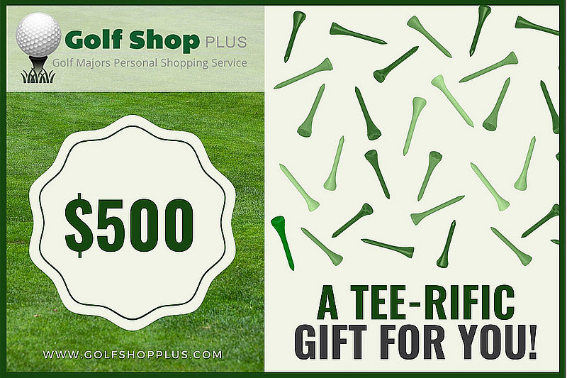 Golf Shop Plus $500 eGift Card