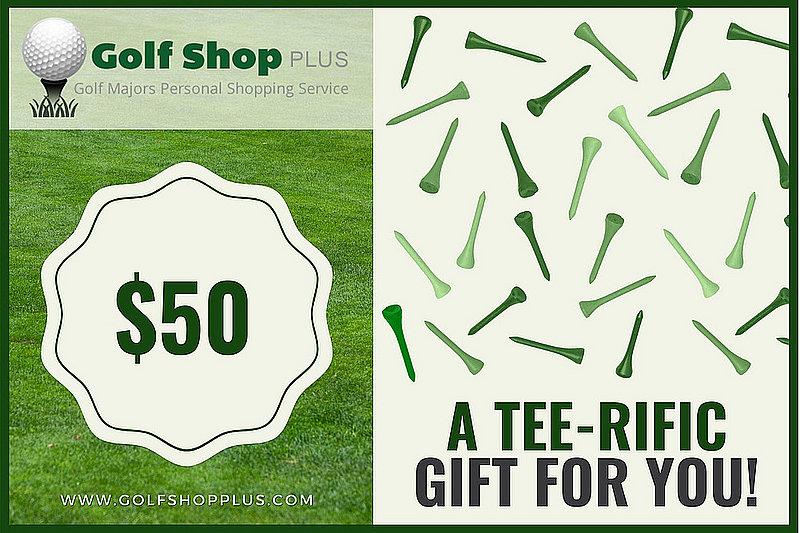 Golf Shop Plus $50 eGift Card