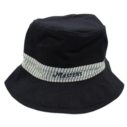 Infant Masters Reversible Seersucker Navy Bucket Hat