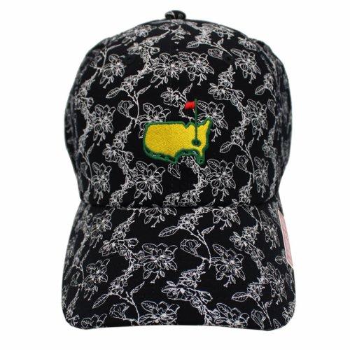 Ladies Masters Navy Floral Hat