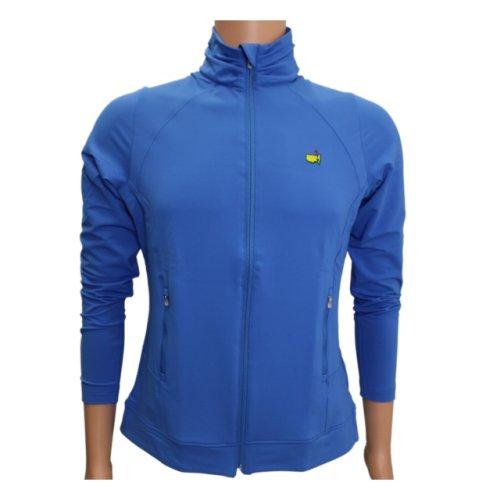 Magnolia Lane Bayberry Blue Full-Zip Jacket