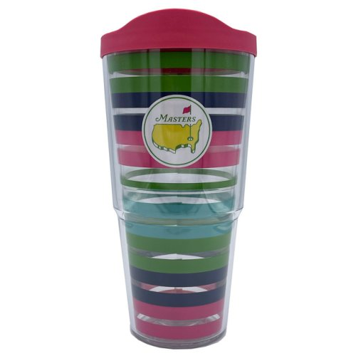 Masters 24 oz Striped Tervis Tumbler with Lid