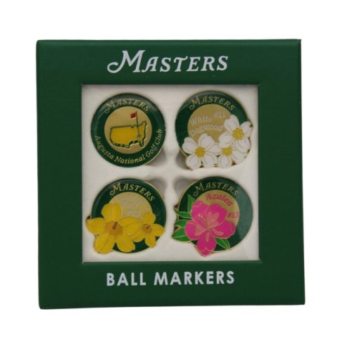 Masters 4 Pack - Floral Ball Markers