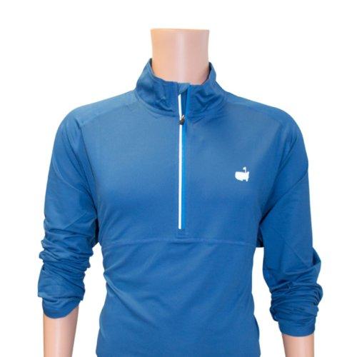Masters Activewear Dark Blue 1/4 Zip Performance Tech Jacket