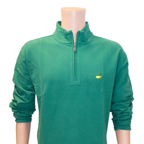 Masters Augusta Green Clubhouse Collection Quarter Zip