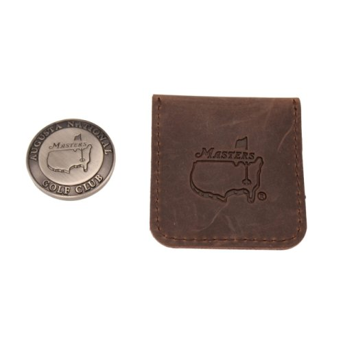 Masters Ball Marker with Leather Pouch